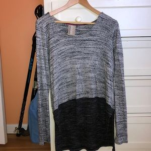 Anthropologie color blocked sweater